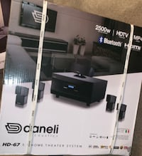BRAND NEW DANELI home theater system
