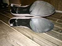 pair of black leather flats Greenville, 29605