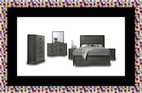 11pc Kate bedroom set with mattress Takoma Park