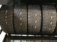 set of four truck tires