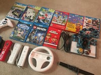 WiiU Mega Bundle with Lego Dimensions, Supermario Maker, & Mariokart 8 Edmonton, T5Z 2X2