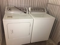 white washer and dryer set Laval, H7N