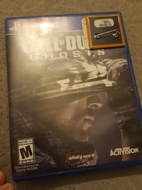 Call of Duty Ghosts Sony PS4 case Sioux City, 51105