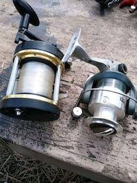 Fishing reel lot