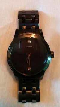BLACK GUESS WATCH  Springfield, 22150