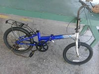 blue and white full suspension bicycle Fort Myers, 33901