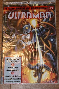 Ultraman #1 Polybag with Card NetFlix Show Mississauga, L5N 7V4