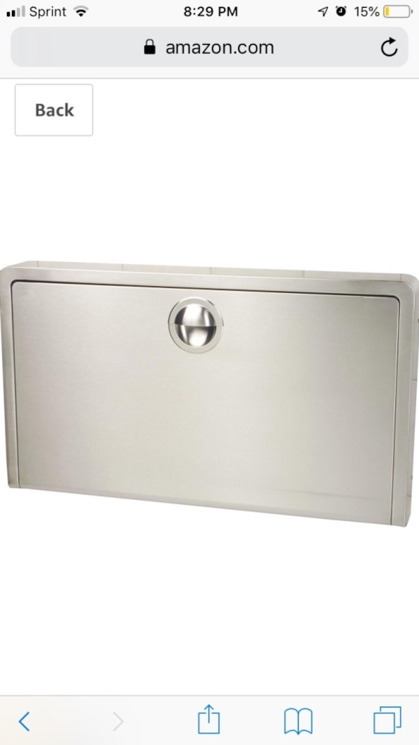 Koala Kare Stainless Steel Wall Mounted Baby Changing Station KB110-SSWM bd17be96-eaf9-49ca-b0a3-37cd06d31295