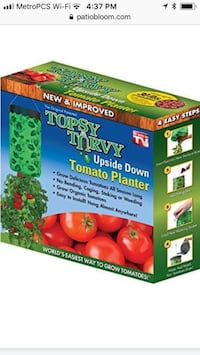 Tomatoes planters set of 2