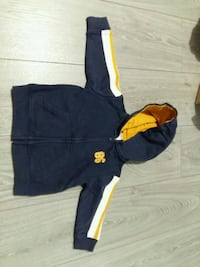 black and yellow zip-up hoodie Toronto, M5J 2X5