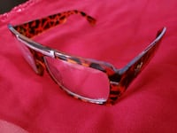 black and red framed sunglasses Bowie, 20715