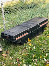 Pick up truck tool box.