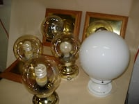 Light Fixtures, Lamp, Swag lamp, light bulbs, electrical parts VICTORIA