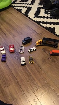 assorted-color vehicle toy lot Mississauga, L5E 2G8