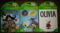 3 brand new Leap Frog Tag Reader books Clinton, 01510