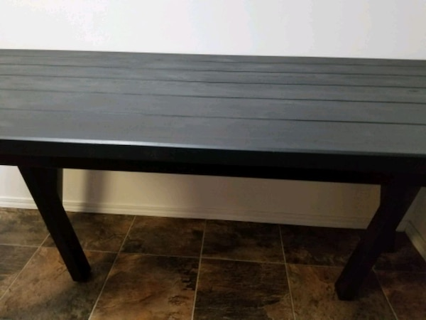 Ikea table and chairs with cusion 6633a912-43ba-40e5-8171-d570259b3332
