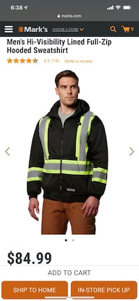 Dakota safety hoodie jacket