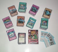 Box of 913 Assorted Collectible Yu-gi-oh Trading Cards London