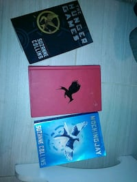 The Hunger Games Series by Suzanne Collins 1220 mi
