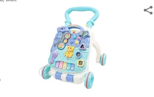3-in-1 Baby Walker, Sit-to-Stand Activity Center/Game Table NEW ½PRICE
