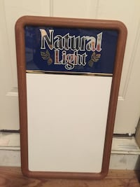 Natural Light beer board (new) firm price