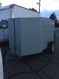 """This trailer can be use for auto detailing, hauling, move big pieces of furniture, painting, gardening and more... all the lights works fine it can be pull with a 2"""" ball Read Less Santa Barbara, 93110"""