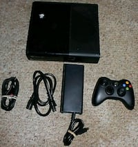 black Xbox 360 console with controller Whittier, 90605