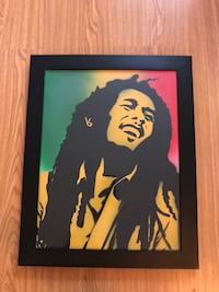 Bob Marley Framed Art Richmond, V6Y