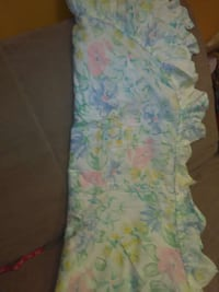 Full size summer weight bedspread