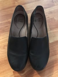 Dansko blk leather shoes like new great work shoe Anchorage, 99515