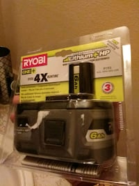 black and gray Ryobi power tool San Antonio, 78242