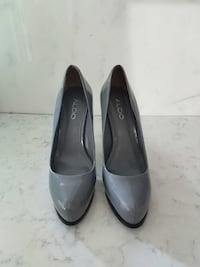 Aldo - Grey Almond Toe Pumps - Size 7  Ontario, M6E 4W7