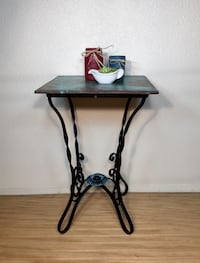 Rustic side table Whitmore, 96096
