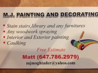 Exterior painting East Gwillimbury