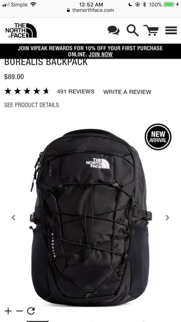 North face backpack 114c95ad-c026-433a-b9ac-b8509a98141d