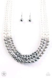 silver-colored necklace with earrings Salinas, 93905