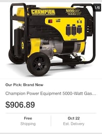 yellow and black DeWalt portable generator screenshot Oakland, 94605