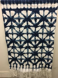black and white floral textile South Gate, 90280
