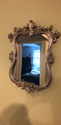 Rectangular gray framed mirror Vienna, 22180