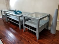 Solid wood coffee table with 2 end tables Ajax, L1Z 1J4