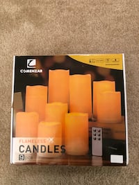 Flameless candles from Amazon 阿灵顿, 22202