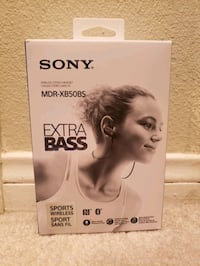 UNOPENED Sony Extra Bass Wireless Earbuds La Quinta, 92253