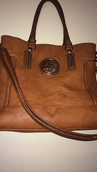 brown Michael Kors leather 2-way tote bag Fayetteville, 28314