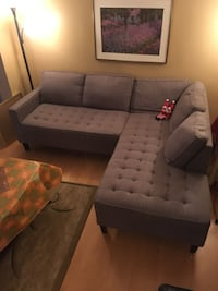 Large Grey Couch Toronto, M9M 3A1