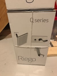 Riego Qseries faucet and shower head