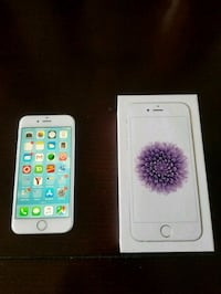 silver iPhone 6 with box Calgary, T3H 0H4