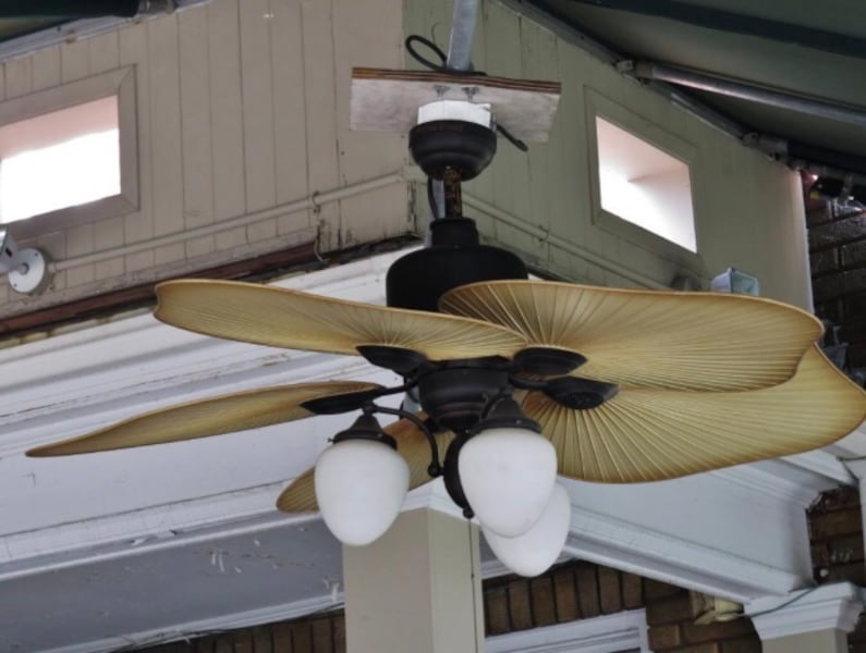 Sold Harbor Breeze Baja Ceiling Fan