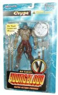Younblood action figure  *CRYPT