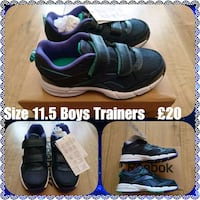 pair of black Nike Air Max shoes collage Stalybridge, SK15 1LL