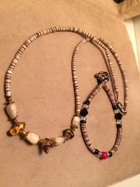 Tigers Eye necklace and bracelet Edmonton, T6E 0R2